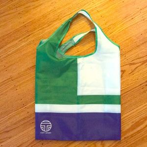 Tory Sport reusable shopping bag